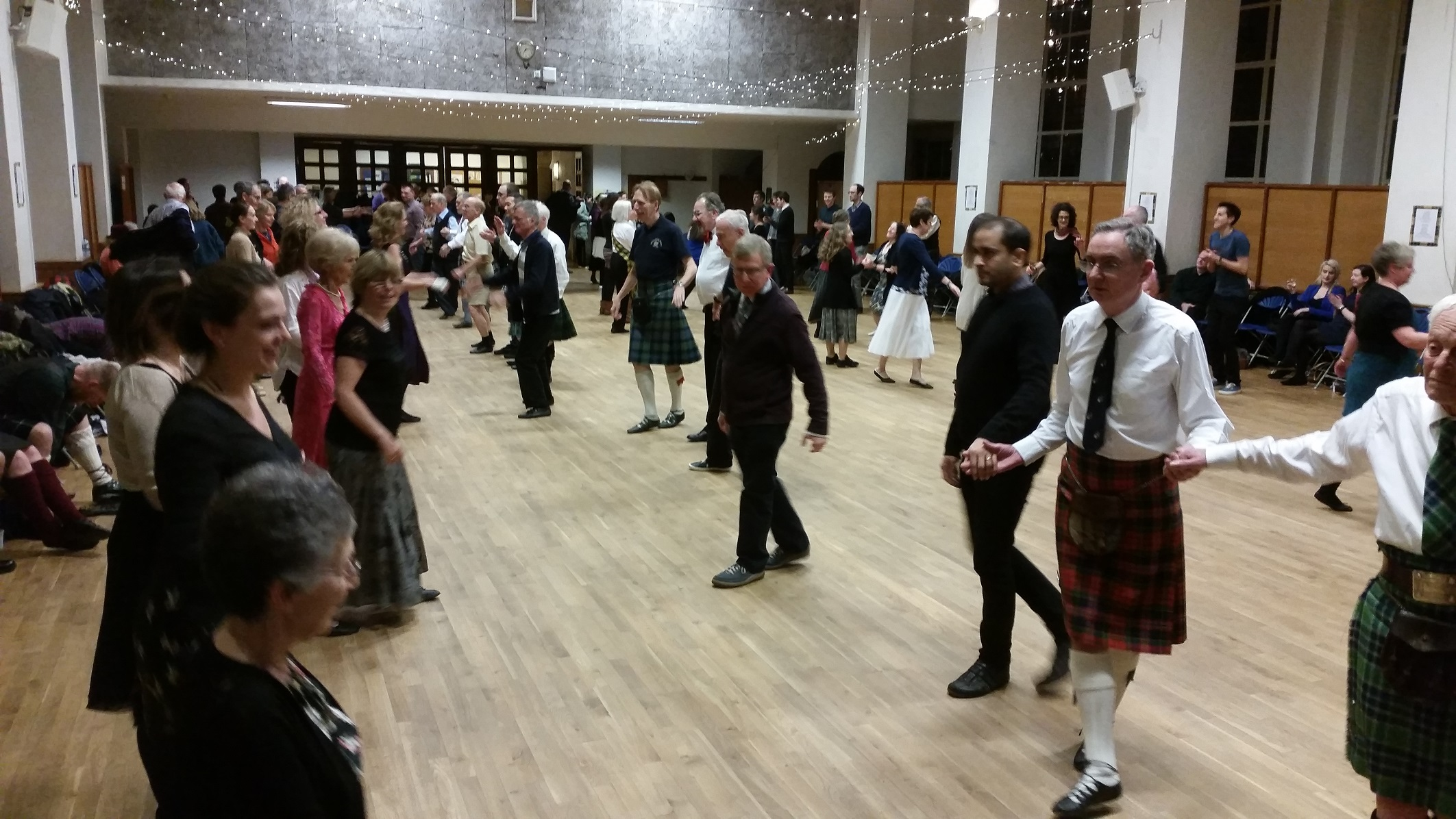 Burns Ceilidh Dance 2016