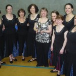 Ladies Dem Team at Newcastle February 2011