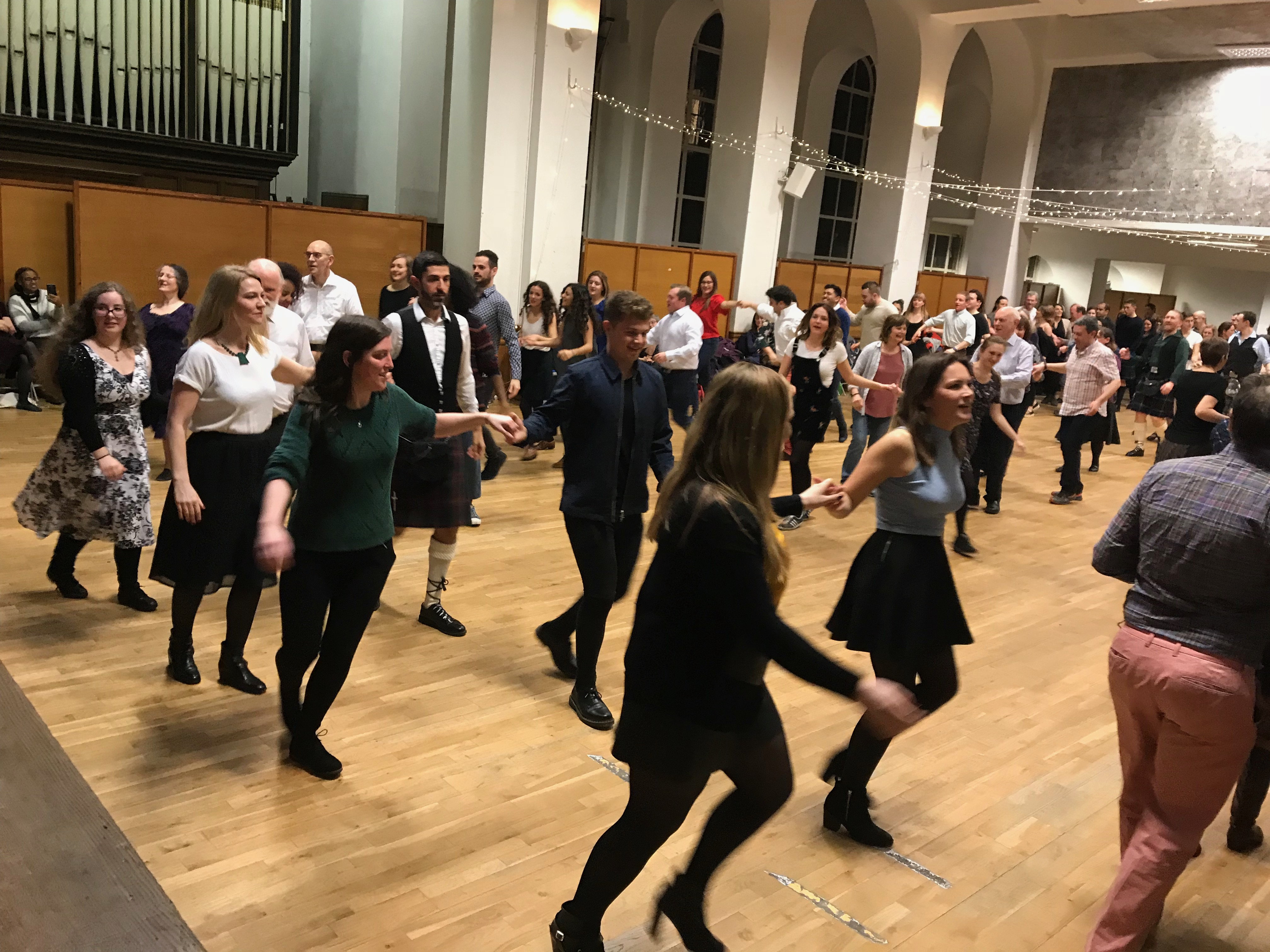Burns Ceilidh Dance 2018
