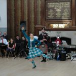 HIghland dance display